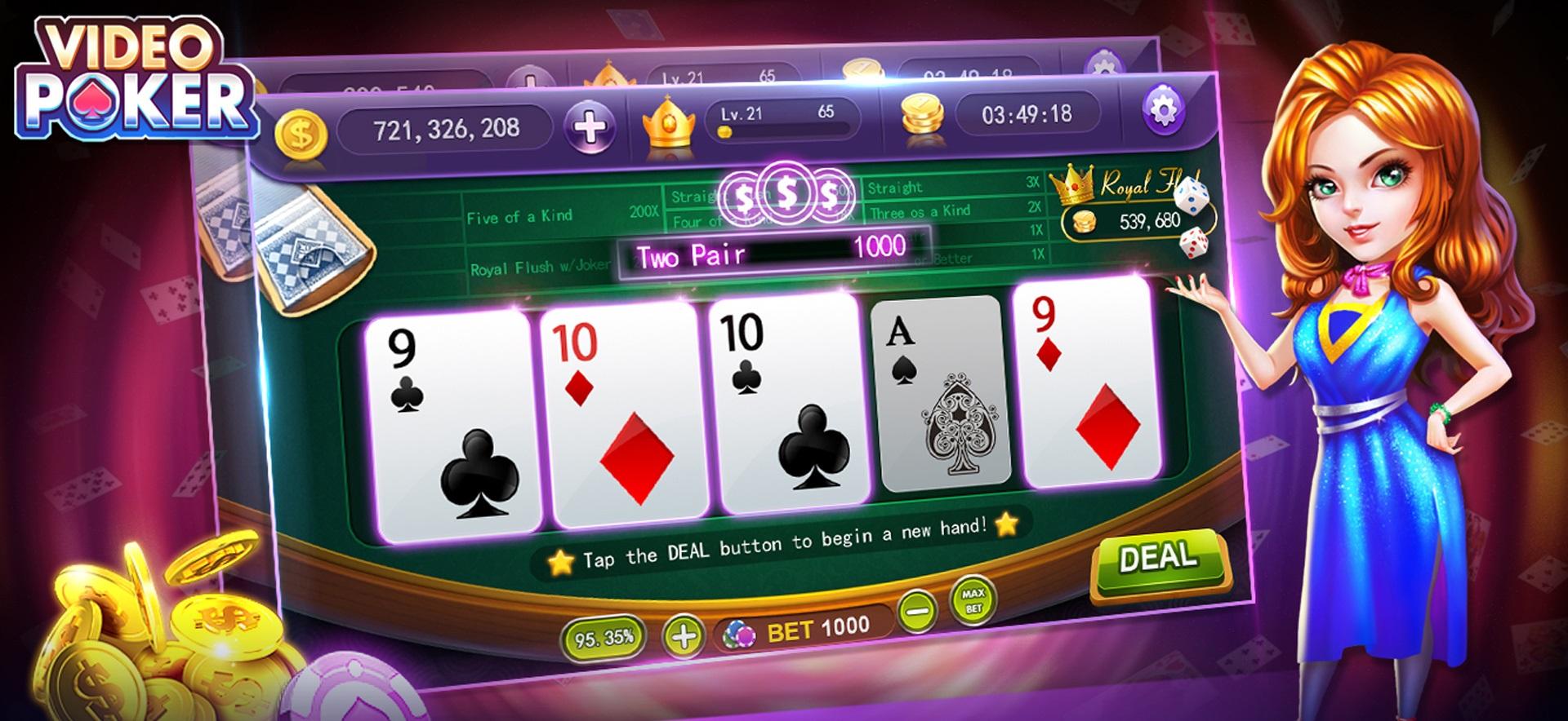 Video poker strategies
