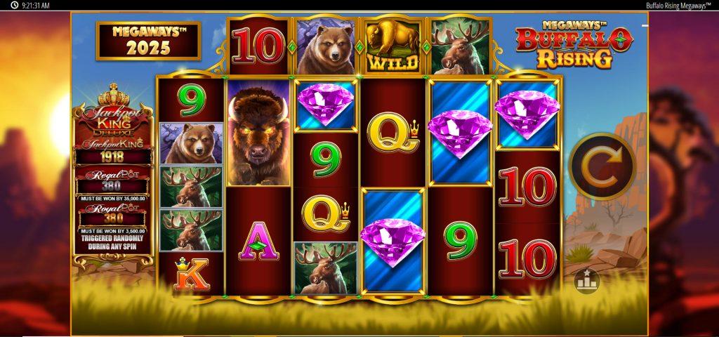Buffalo Rising Megaways Jackpot King slot guide